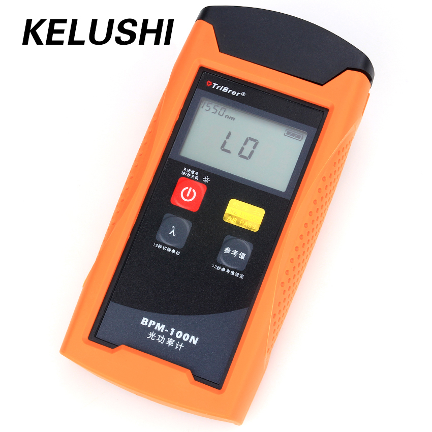 Handheld TBM-70A Fiber Optic Power Meter 70~+10dBm SC//FC Cable Tester Red