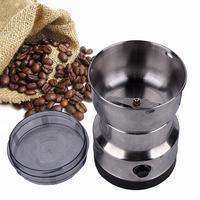 Multifunction Electric Mini Stainless Steel High Speed Coffee Grinder Machine For Home Use Or Commercial High