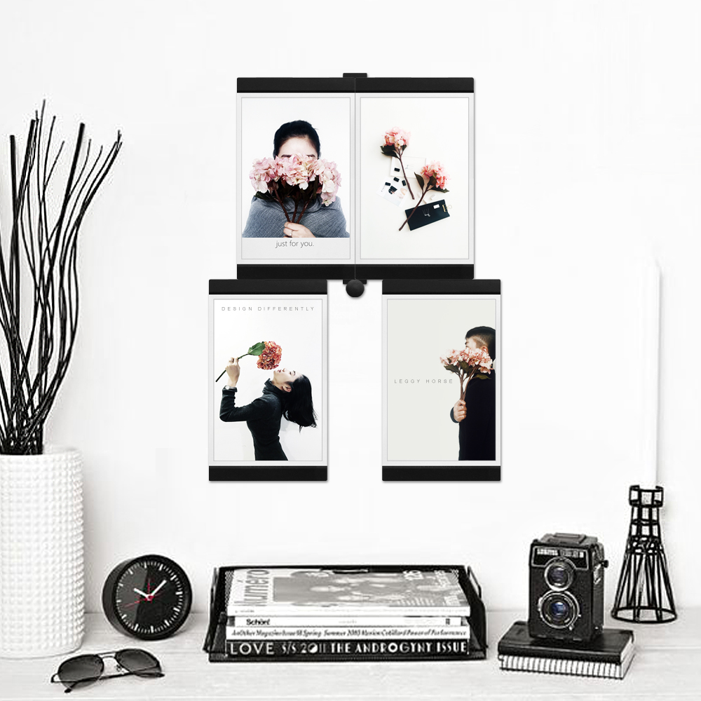 Photo Frame Fridge Refrigerator Decor Flexible Square Frame Picture ...