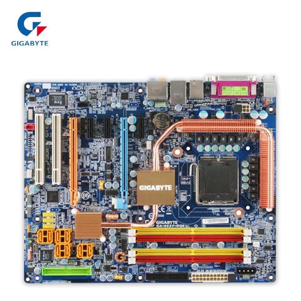 все цены на Gigabyte GA-965P-DQ6 Original Used Desktop Motherboard 965P-DQ6 P965 LGA 775 DDR2 8G SATA2 ATX онлайн