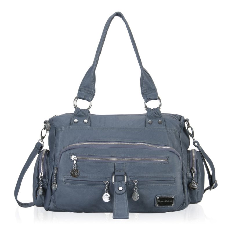 ФОТО VEEVANV 3 Colors Good Quality Washed Leather Bags 2016 Fashion Women Handbag Motorcycle Bag Women Messenger Bags Ladies Handbags