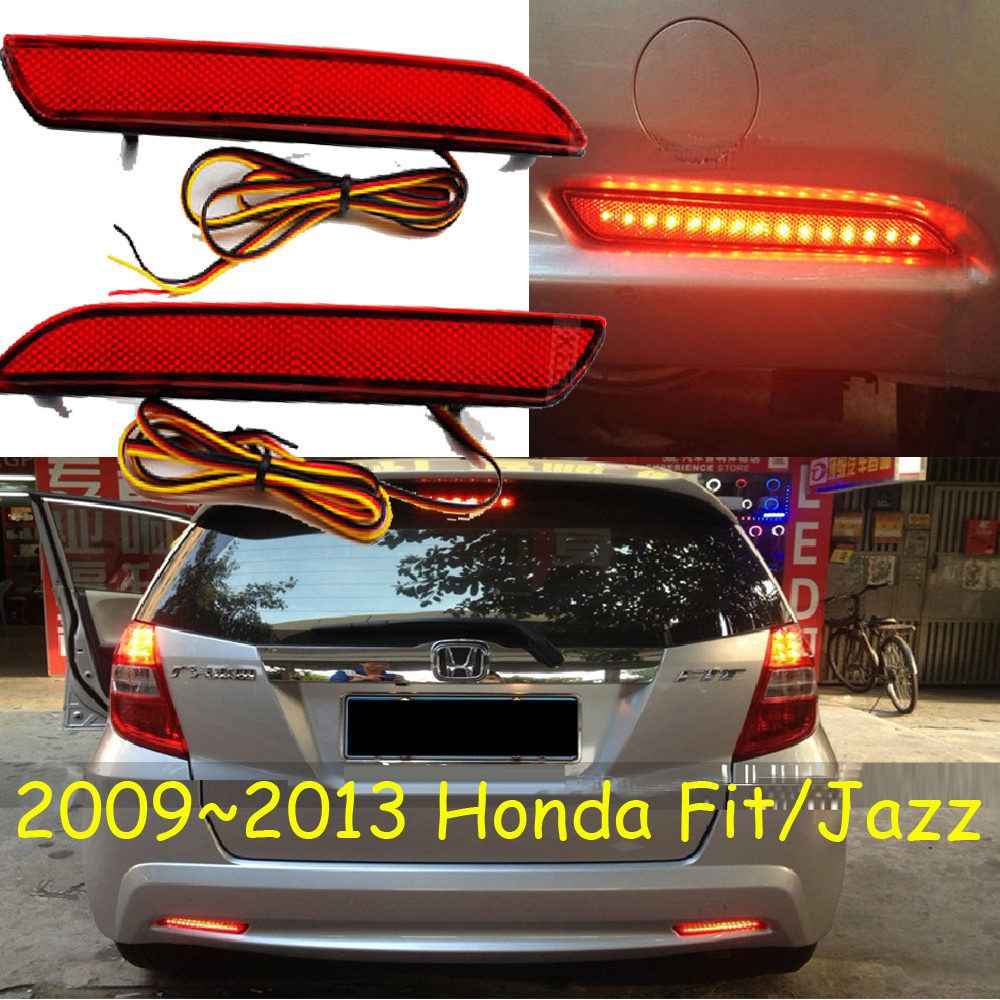 Fit breaking light,2009~2013,Free ship!LED,Fit rear light,LED,2pcs/set,Fit taillight;vezel,Fit Jazz  fit 57817