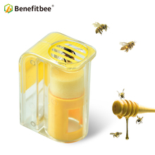 Benefitbee 1Pcs Bee Queen Marking Catcher Plastic Marker Bottle Plunger Plush Beekeeper Tool Garden