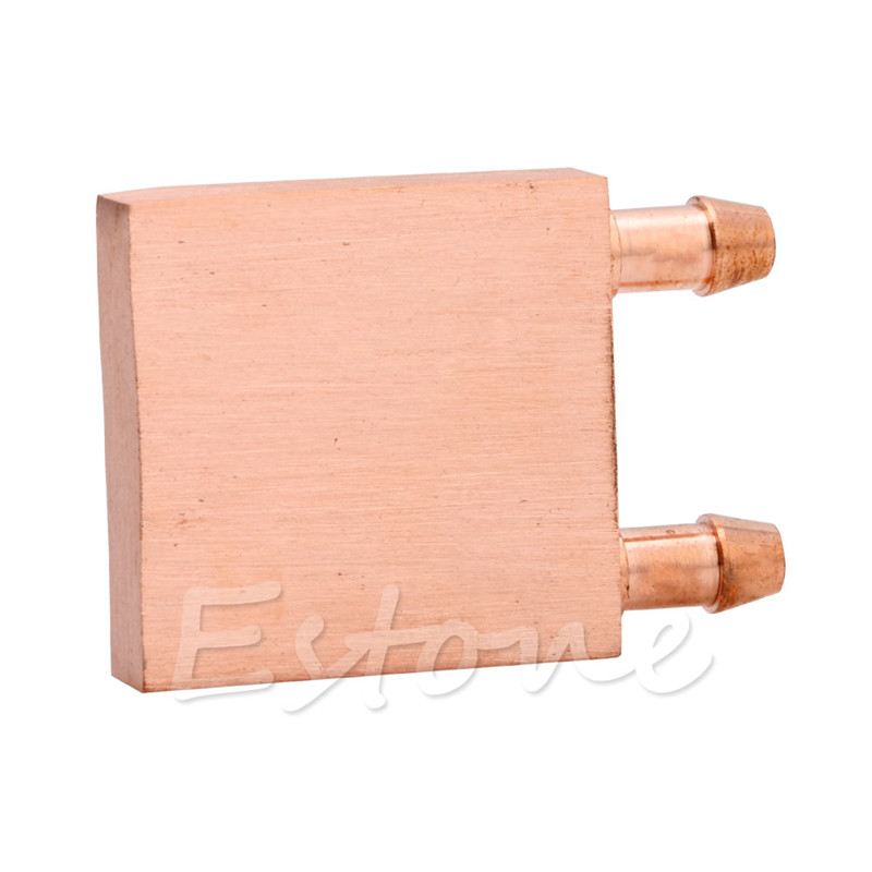 BGEKTOTH Hot Copper Water Cooling Block CPU PC Computer For Graphics GPU Endothermic Head Single-Sided Polished cpu cooling conductonaut 1g second liquid metal grease gpu coling reduce the temperature by 20 degrees centigrade
