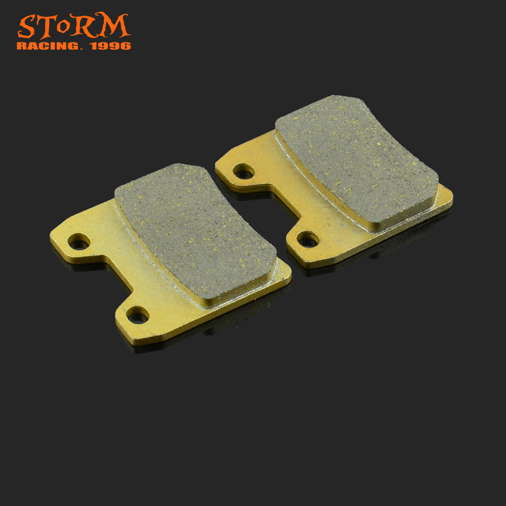 Motorcycle Rear Caliper Brake Pads For YAMAHA FZS1000 FAZER FZS XJR1300 XJR 1000 1300 C N P R S T V W Dirt Bike Free Shipping