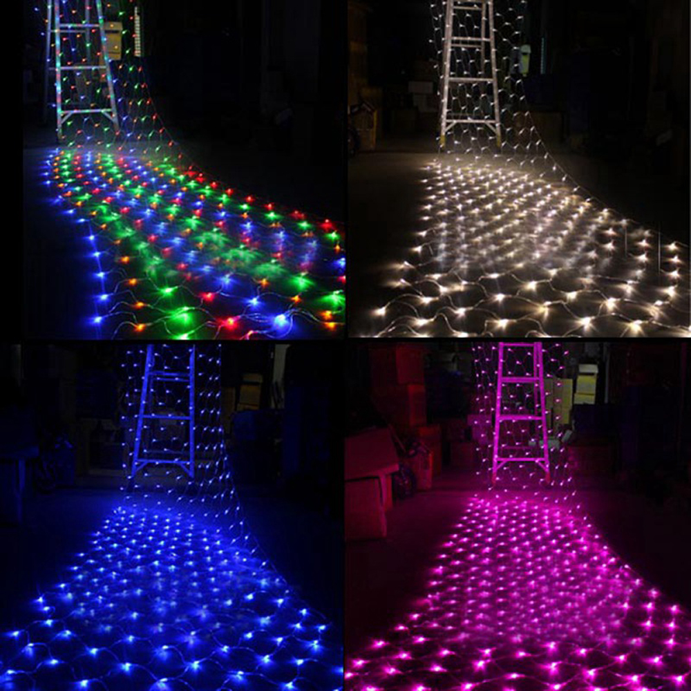 Romantic 1 5mx1 5m Led Christmas Light Tree Wedding Party