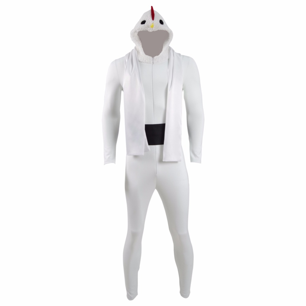 Chicken Attack Chicken Ninja Jumpsuits Cosplay Costume Funny Party Dress Animal Pajamas Halloween Christmas Carnival Outfit