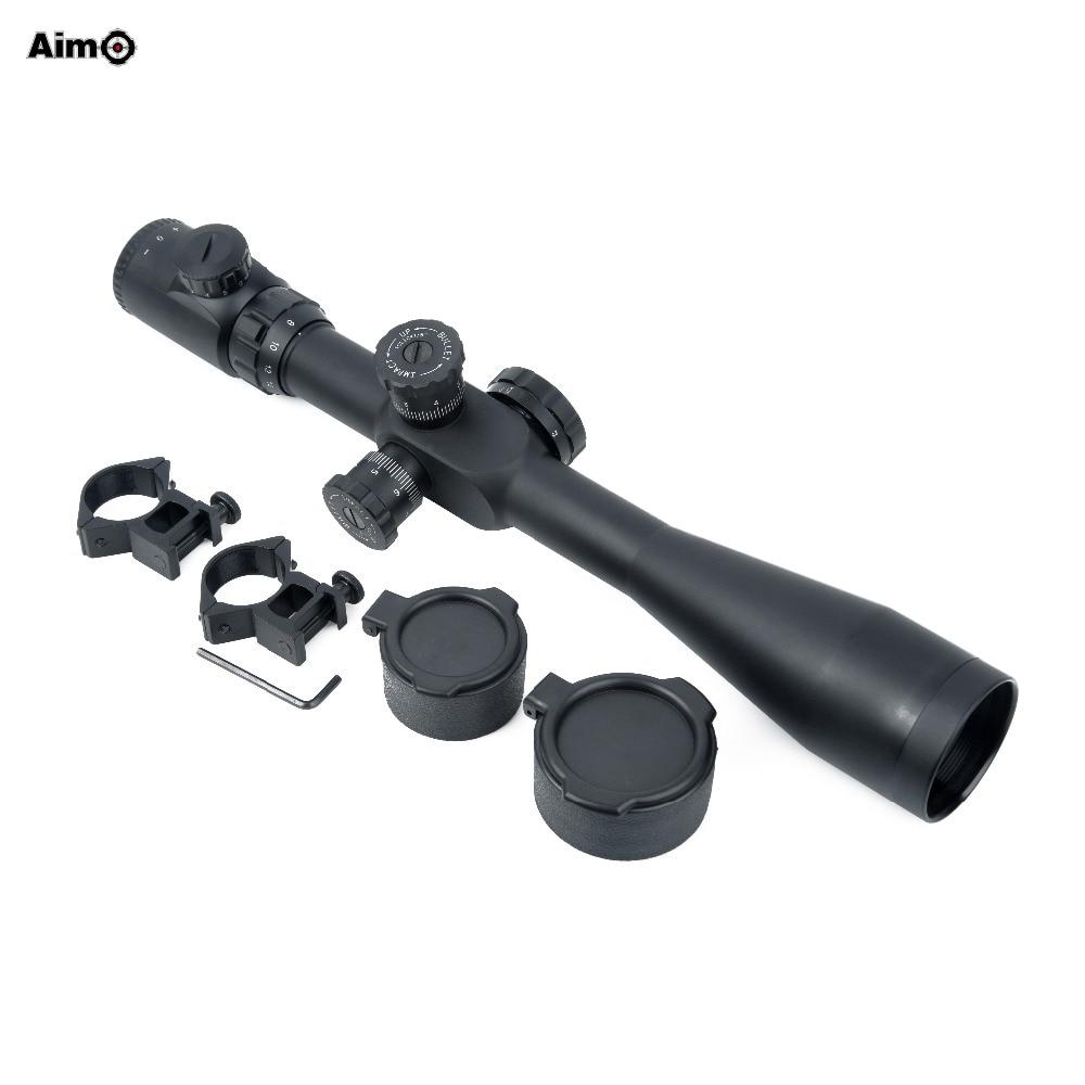 Aim-O Sniper Scope 8-32x50 illuminated Reticle Riflescope AO5304 sniper elite v2 цифровая версия