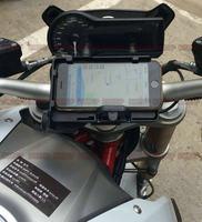 BikeGP mobile phone Navigation bracket USB phone charging for BMW R1200R R1200RS 15 17