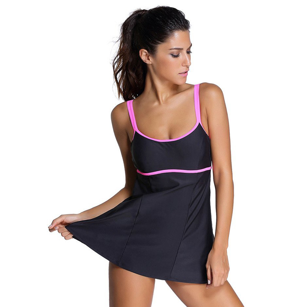 Dress Swimsuit Female One Piece Swimming Suit For Women -2571