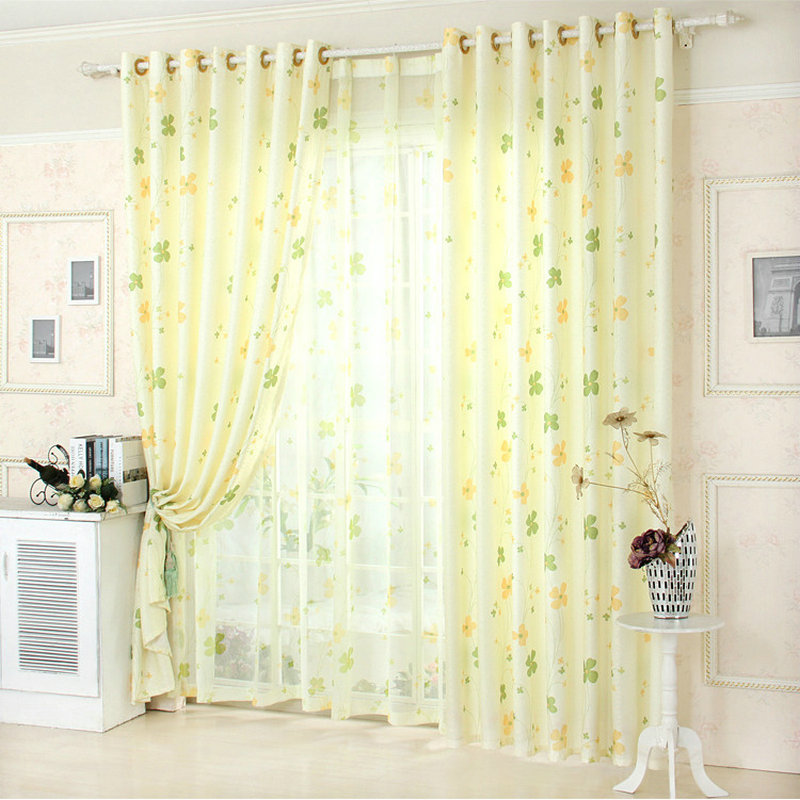 New Kitchen Curtains For Less: New Arrival Blue /Green /Gray Window Curtain For Living