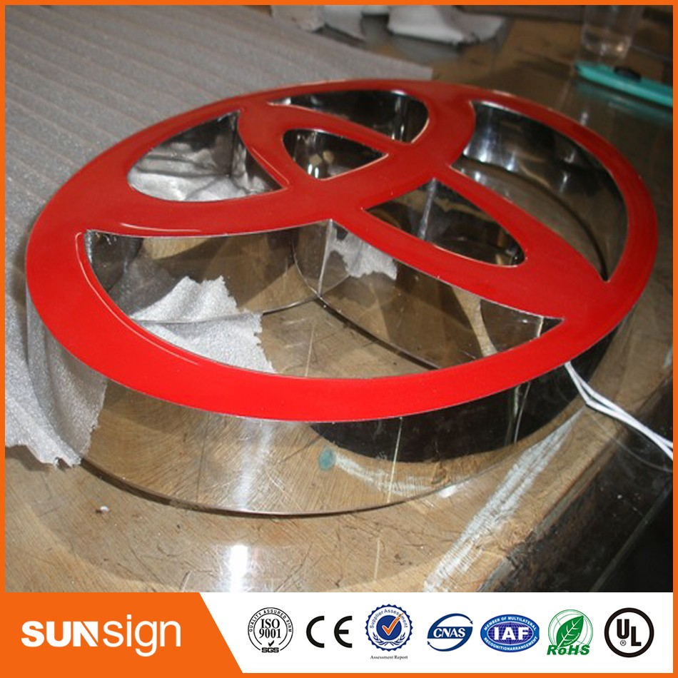 Metal Sign Letters Wholesale Wholesale Advertising Channel Letter Signs Design Fonts 3D Letters