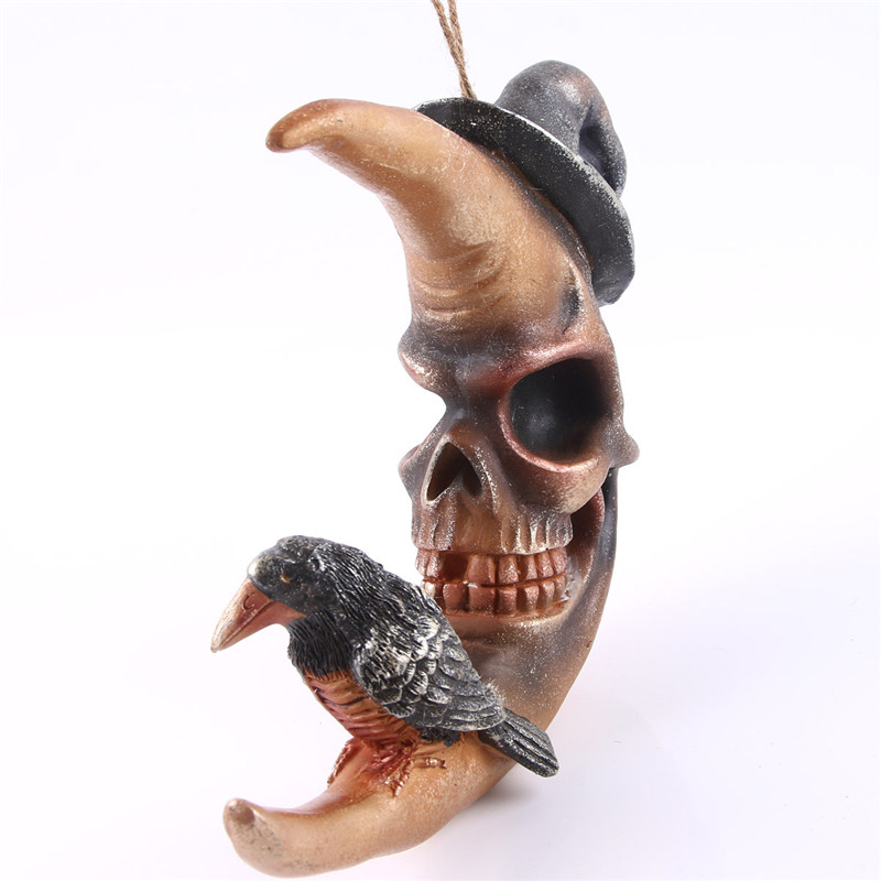 Resin Craft Skull Statues For Hanging Decoration Skull Creative Skull Figurines Sculpture Home Decoration AccessoriesResin Craft Skull Statues For Hanging Decoration Skull Creative Skull Figurines Sculpture Home Decoration Accessories