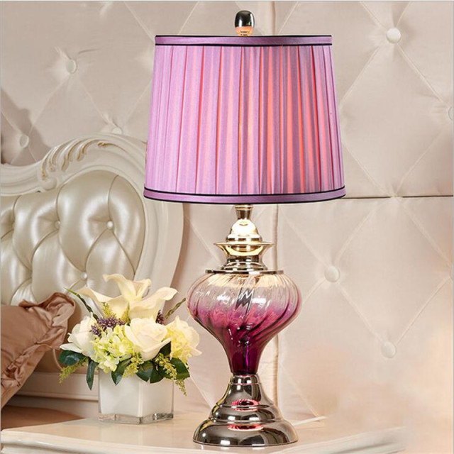 Contemporary Crystal Table Lamps For Living Room Embellishment ...