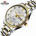 Original guanqin homens relógio de quartzo assistir à prova d' água à prova de choque homens relógio 2016 luminosa relógio de pulso de luxo relógio masculino relógios de pulso