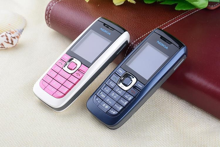 Refurbished Original Unlocked Nokia 2610 the Cheapest multi-language Cellphone white 7