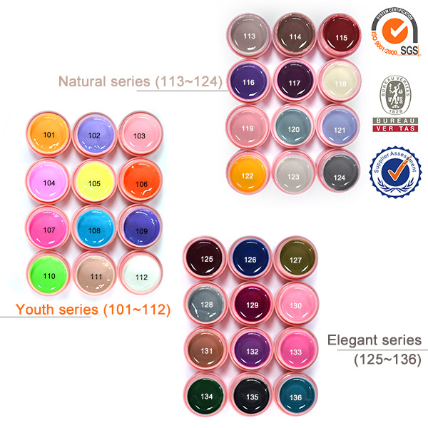 Painting Gel 12 36 Colors Kit CANNI Nail Art Gel Lacquer