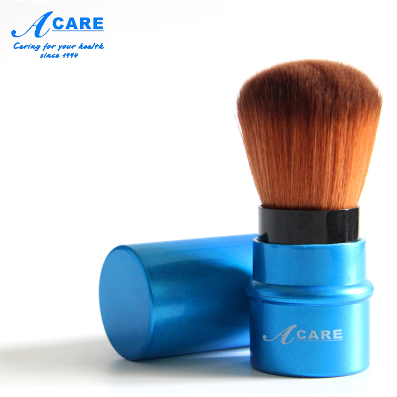 цена на ACARE Portable Retractable Blush Makeup Brush Retractable Pro Foundation Cosmetic Blusher Face Powder Brushes Beauty Tools