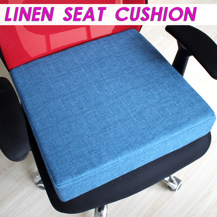 chair cushion foam zero gravity massage chairs new linen lumbar pain relief office seat sofa in from home garden on aliexpress com alibaba group