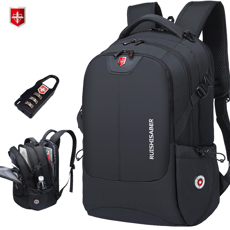 Brand Swiss 17 inch Laptop Backpack Men USB Charging Travel Backpack School Bag Nylon Waterproof Backpacks Women bagpack Mochila Рюкзак