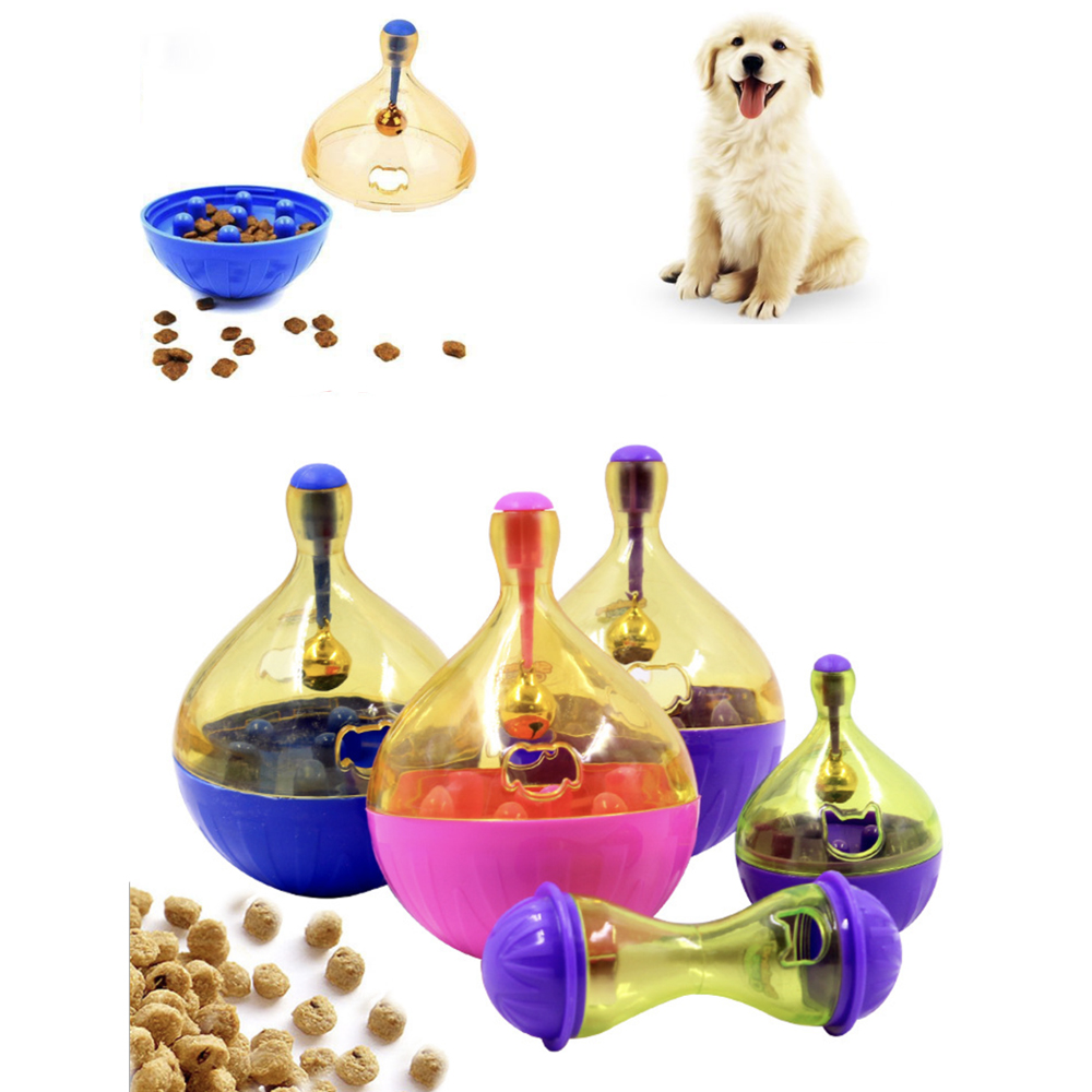 b7a35f20a69a Dog Puzzle Toys Tumbler Dogs Toy Food Hide Ball Toys Pet Interactive Ball  Shaking Food Leakage Feeder puppy Snack Dispenser-in Dog Toys from Home &  Garden ...