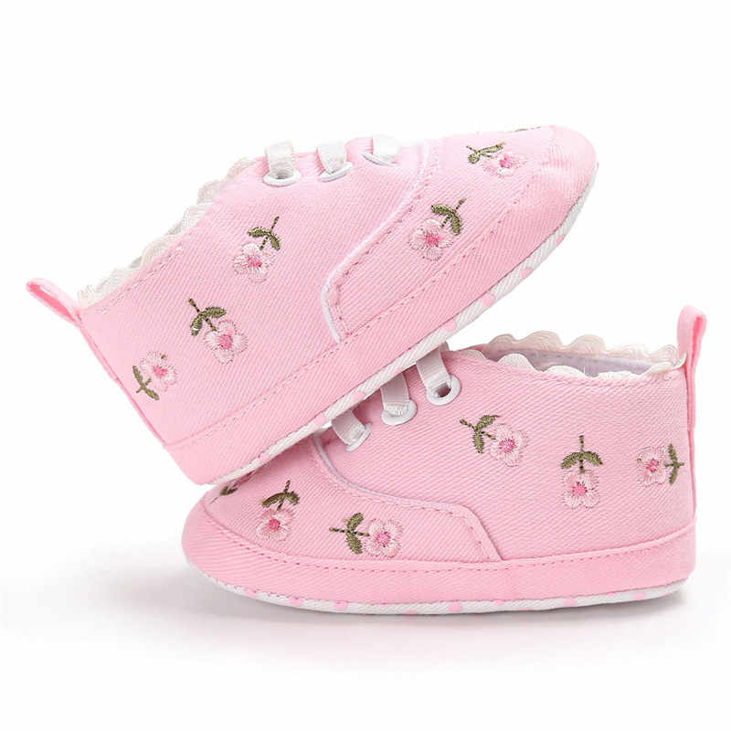 جديد قماش الكلاسيكية الرياضية حذاء رياضة الوليد الطفل الفتيان الفتيات الأولى ووكر أحذية الرضع طفل لينة وحيد المضادة للانزلاق الطفل أحذية 77 #45