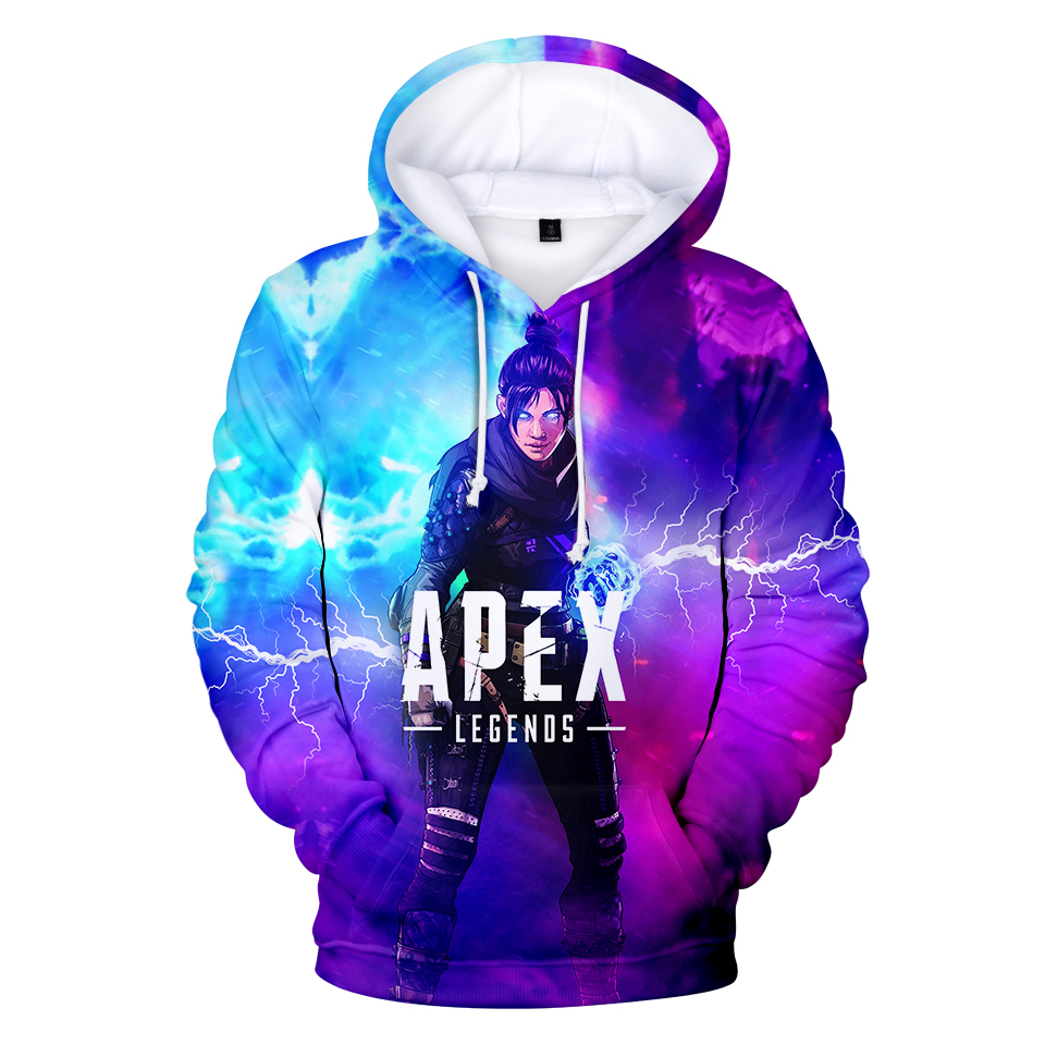 Apex Legends 3D Hoodies Men Women Streetwear Sweatshirt 3D Hooded Men's Long Sleeve Clothing Print Apex Legends Hoody Men