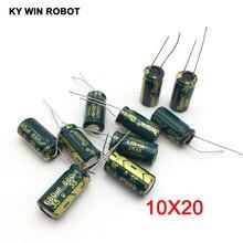 10 pcs Aluminum electrolytic capacitor 680 uF 35 V 10 * 20 mm frekuensi tinggi Radial Electrolytic kapasitor