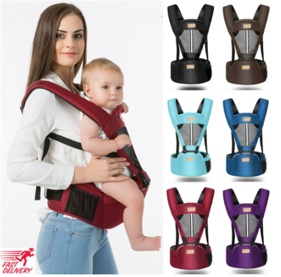 New Brand Baby Carrier With Hip Seat Removable Multifunctional Waist Support Stool Strap Backpacks Carriers 0-30 Months Baby