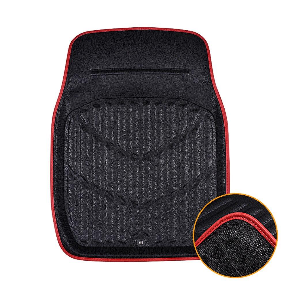 Car Pass Universal Car Floor Mats For Auto Anti Slip Mat