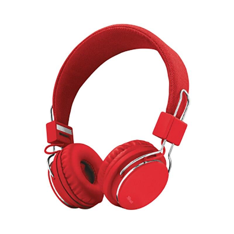 Headphones Trust Ziva Red 21822 игровой набор 3 в 1 trust ziva gxt790 sb spectra gaming bundle синий