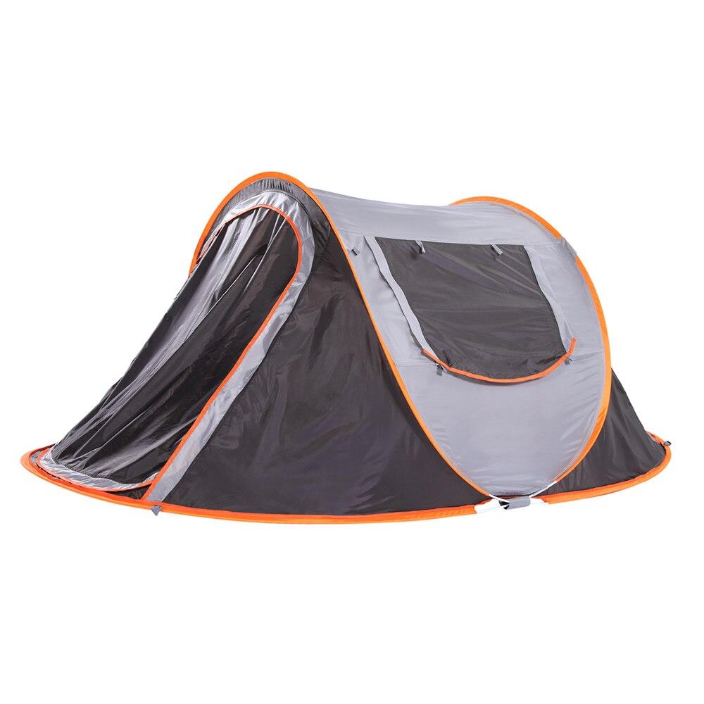 Tente de jet automatique jetant Pop Up Camping imperméable extérieur randonnée tente vitesse tentes ouvertes voyage tentes automatiques 250*150 cm