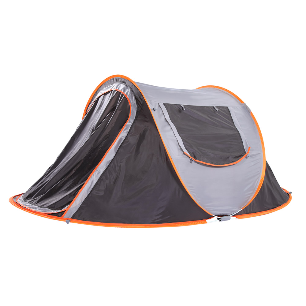 все цены на Automatic Throw Tent Throwing Pop Up Outdoor Waterproof Camping Hiking Tent Speed Open Tents Travel Auto Tents 250*150cm