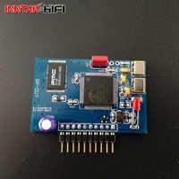 7pin / 10 pin CM6631 USB module CM6631A USB daughter card for DAC5 AD1955 DAC9 AK4399 Hard control by weiliang