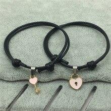 Couple Charm Bracelet