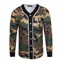 뜨거운 판매 2017 새로운 패션 남성 polo 셔츠 높은 품질 군사 위장 남자 셔츠 넓은 웨이스트 긴 소매 남성 의류 3XL
