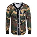 Hot Sale 2017 New Fashion Mens Polo Shirts High Quality Military Camouflage Man Shirt Wide waisted Long Sleeve Men Clothing 3XL