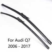 Auto Scheibenwischer Klingen für Audi Q7 form 2006 2007 2008 2009 2010 2011 2012 2011 zu 2017 Auto Windschutz wischer Gummi