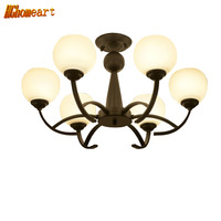 HGHomeart American Retro LED Ceiling Lights Bedroom Lamp Kitchen Home Lighting E27 Fixtures Ceiling Luminaire Vintage