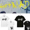 Got7 k-pop derecho cartel álbum kpop hoodie mosca de manga corta camiseta y traje Coreano suelta soporte tops camiseta de la camiseta mujeres