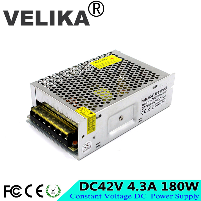 Single output Switching Power Supply DC 42V 4.3A 180W Converter ...