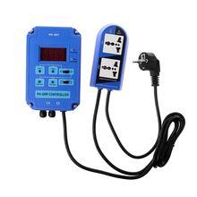 Digital pH ORP Redox 2 in 1 Controller Monitor w/ Output Power Relay Control Electrode Probe BNC for Aquarium Hydroponics Plants недорого