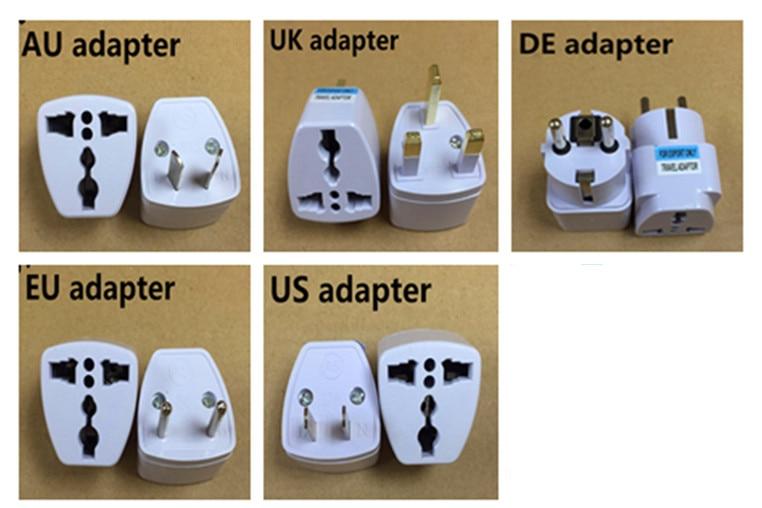 Universal DE UK US AU EU To DE UK US AU EUAC Power Socket Plug Travel Charger Adapter Converter