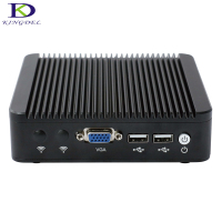 Kingdel Fanless Mini PC J1900 Quad Core 4 Intel WG82583 Gigabit Lan Firewall Multi Function Router