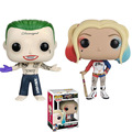 FUNKO POP! HEROES Suicide Squad Harley Quinn #97 The Joker #96 Vinyl Figure Collectible Model Toy