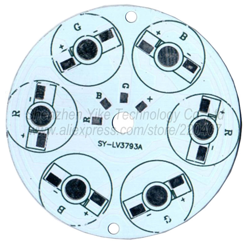 Holofotes de refrigeração 50mm para a Modelo Número : Yk-65mm- 3w 5w 6w