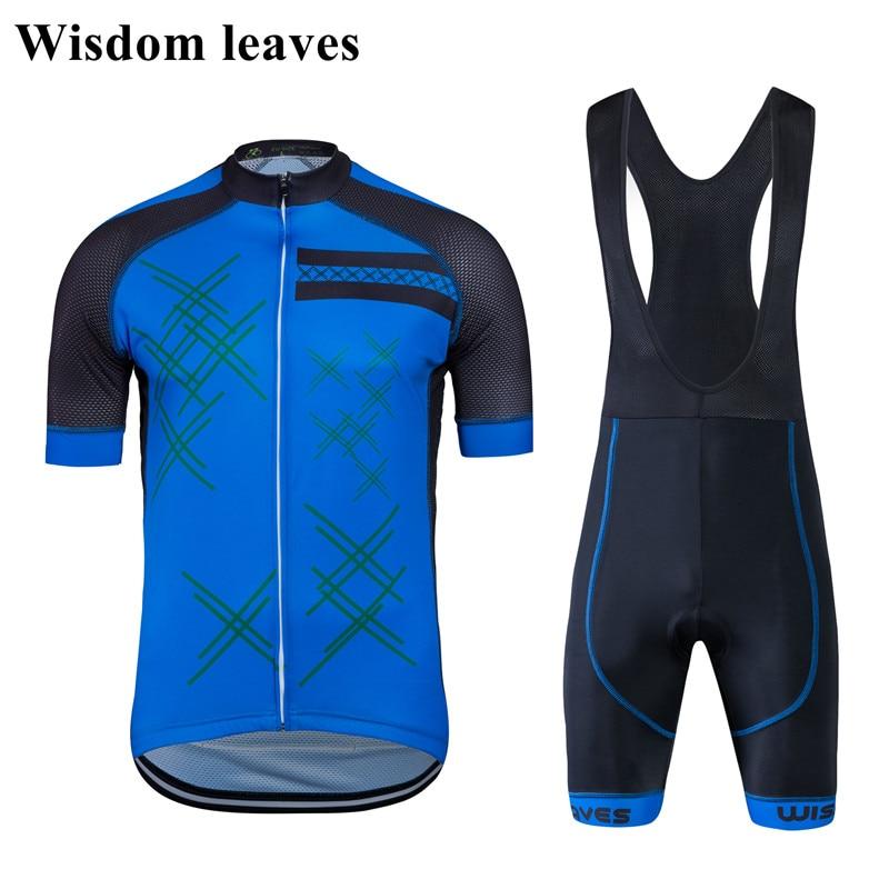 Wisdom Leaves 2017 Designer Brand ciclismo Men pro team cycling clothing sets ropa de ciclismo profesional