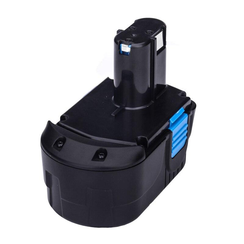 Batterie de rechange Cncool 3000 mAh 18 V NI-MH pour perceuse visseuse Hitachi: EB1820 EB1812 EB1830H EB1833X EB18B 322437