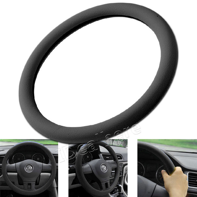 new 1pcs soft silicone car steering wheel cover shell 36 40cm multinew 1pcs soft silicone car steering wheel cover shell 36 40cm multi color skidproof eco