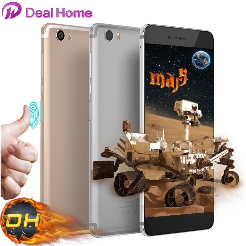 Цена за Vernee Марс Мобильного Телефона Android 6.0 4 Г LTE MTK6755 Octa Core 2.0 ГГц 5.5 ''FHD 4 ГБ RAM + 32 ГБ ROM 13MP Стороны Отпечатков Пальцев ID